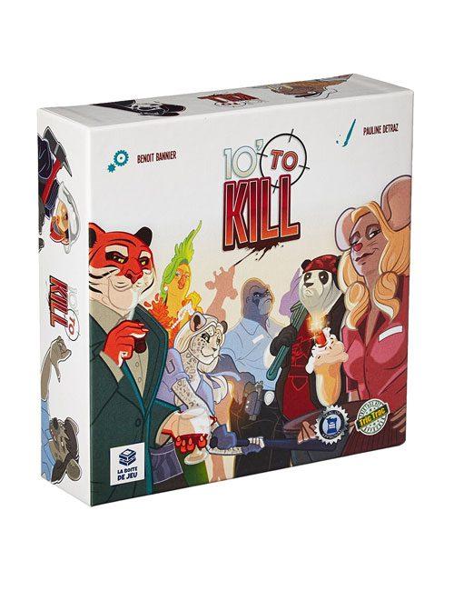 10' To Kill Board Game
