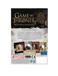 game of thrones westeros intrigue game