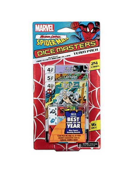 spider man dice masters