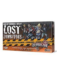 zombicide lost zombivors expansion