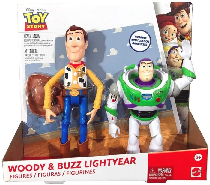 Disney Toy Story Woody & Buzz Figures