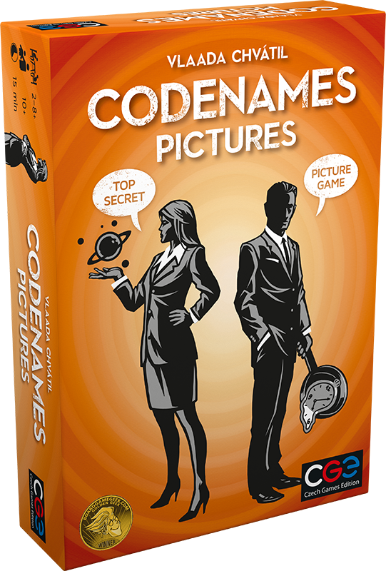 Game of the day - Codenames: Pictures