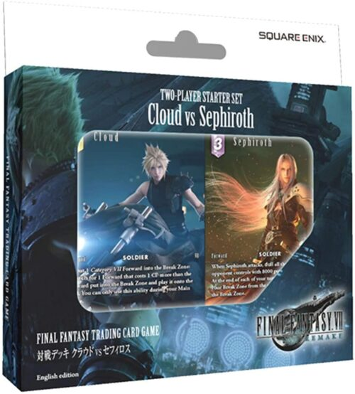 Final Fantasty 7 Cloud vs Sephiroth Starter Set