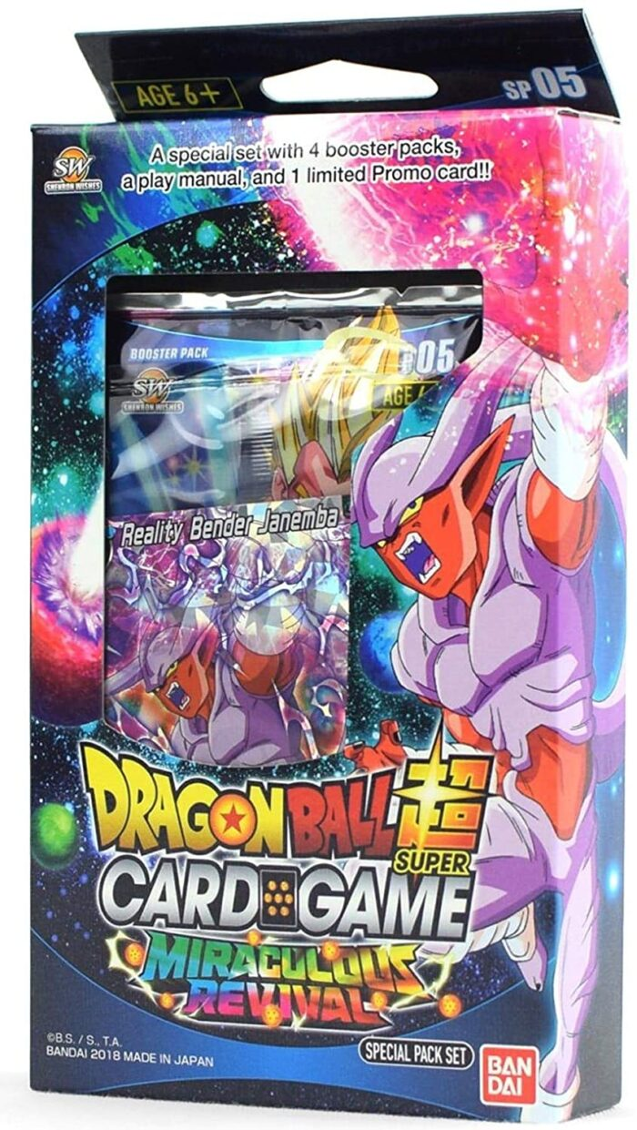 Dragon Ball Miraculous Revival Set