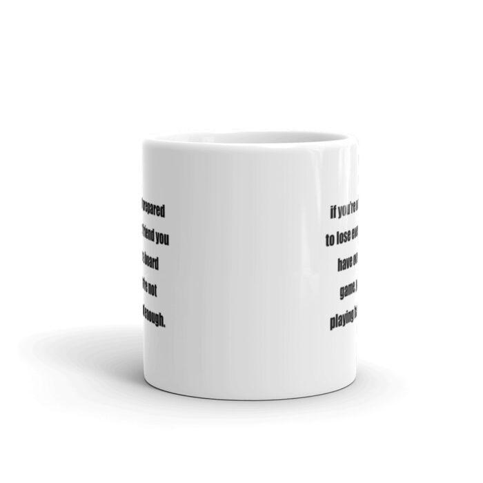 Not Playing Hard Enough Funny Mug