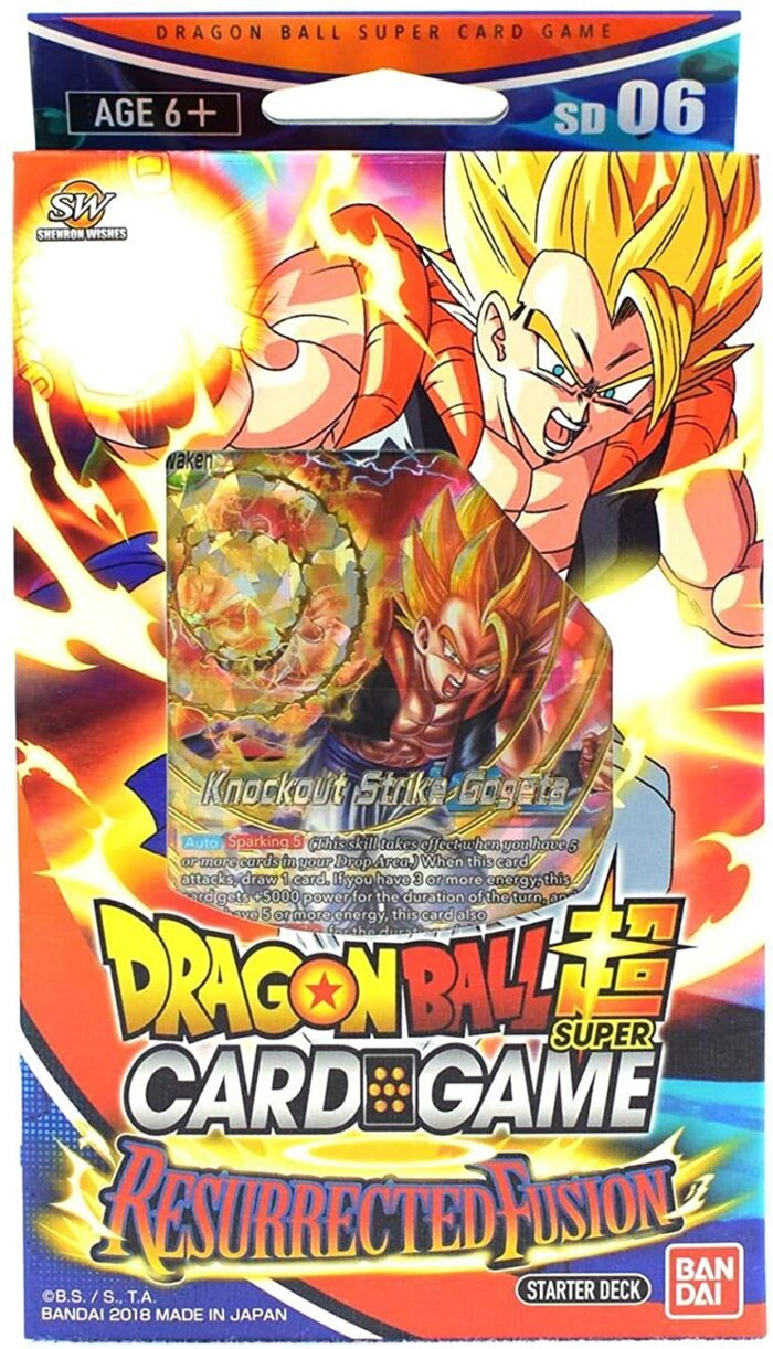resurrected fusion dragon ball