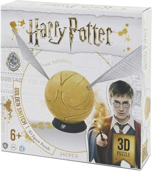 Harry Potter Snitch Spherical 3D Puzzle