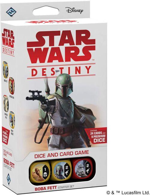 Star Wars Boba Fett Destiny Starter Game Set
