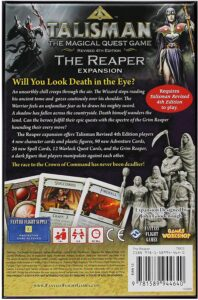 talisman reaper expansion back