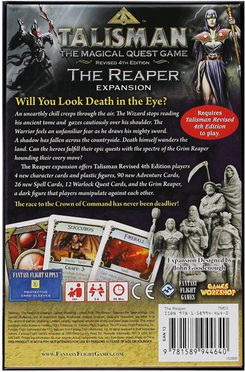 talisman reaper expansion back