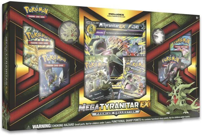 Pokemon Mega Tyranitar-EX Premium Collection