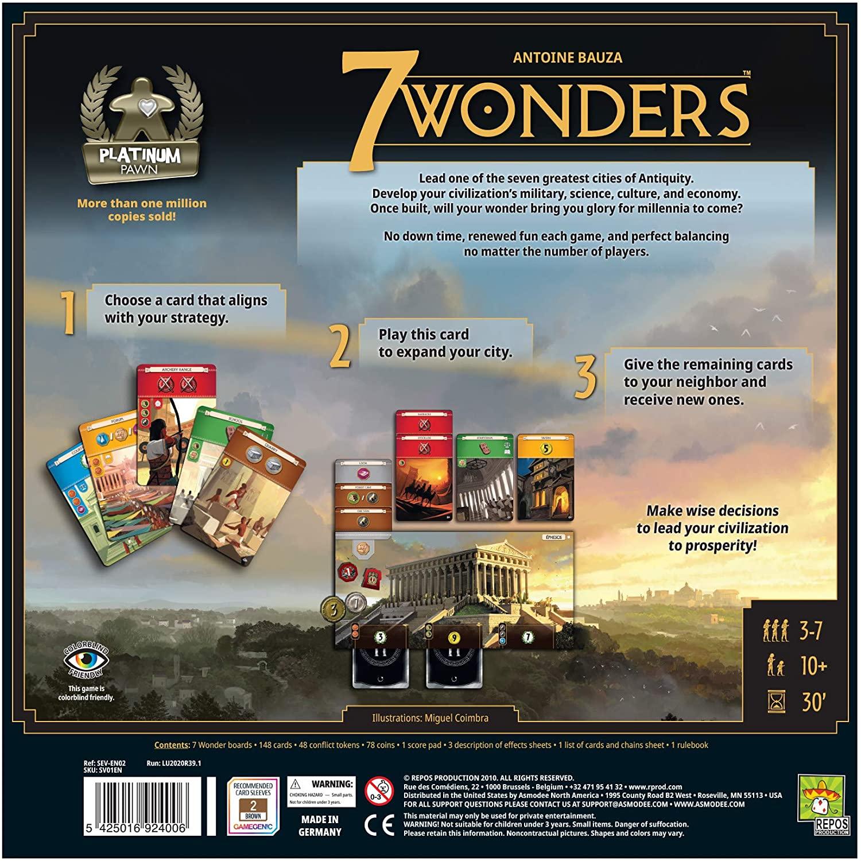 7 wonders back