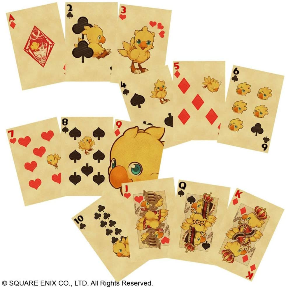 chocobo cards