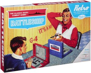 retro battleship game