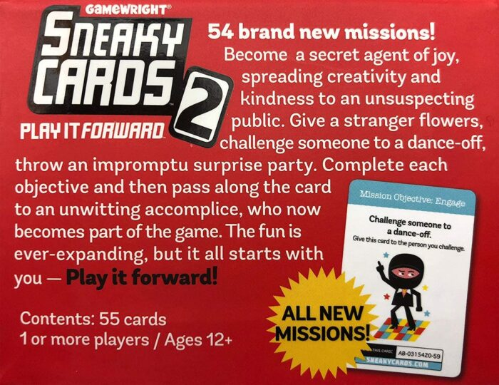 sneaky cards 2 2