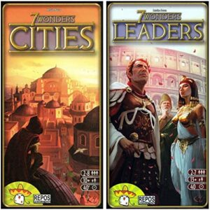 repos 7 wonders cities 7 wonders leaders expansion bundle english